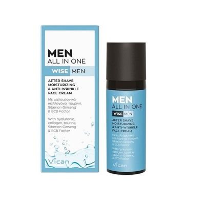 Vican Wise Men All in One After Shave & All-Day Face Cream 50ml
