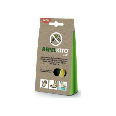 RepelKito Εντομοαπωθητικό Βραχιόλι 6VP Κίτρινο 1τμχ