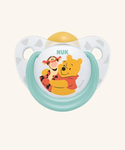 Nuk Trendline Disney Πιπίλα Με Καουτσούκ Με Κρίκο Βεραμάν (10.725.980)