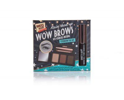 Dirty Works Wow Brow Eyebrow Kit 1τμχ