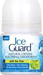 Optima Ice Guard Natural Crystal Deo Tea Tree 50ml