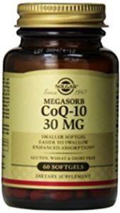 Solgar Coenzyme Q-10 30mg Veg. 60 Μαλακές Κάψουλες