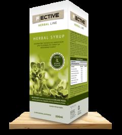 F|ECTIVE Herbal Line Φυτικό σιρόπι για ενήλικες 200ml