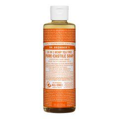 Dr.Bronner's Tea Tree Pure-Castile Liquid Soap 237ml