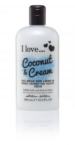 I Love... Bubble Bath Coconut & Cream 500ml