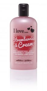 I Love... Bubble Bath Strawberries & Cream 500ml
