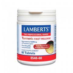 Lamberts Turmeric Fast Release 60 Ταμπλέτες