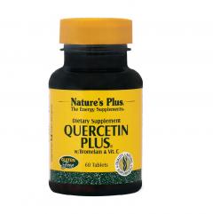 Natures Plus Quercetin Plus (Κερσετίνη) 60 Ταμπλέτες