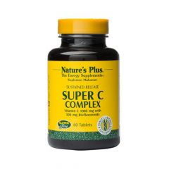 Natures Plus Super C Complex 1000mg 60 Ταμπλέτες