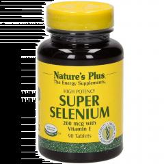 Natures Plus Super Selenium Σελήνιο 200mcg 90 ταμπλέτες