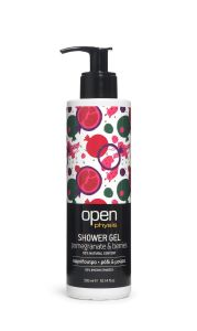 Open Cosmetics Αφρόλουτρο Ρόδι & Μούρα 300ml