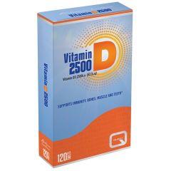 Quest Vitamin D3 2500IU 120 Ταμπλέτες