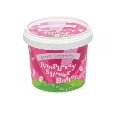 Bomb Cosmetics Raspberry Shower Butter 365ml