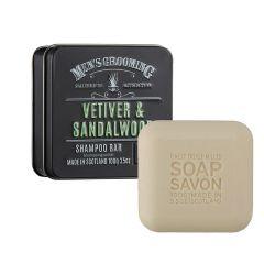 The Scottish Fine Soaps Grooming Σαμπουάν σε Μορφή Μπάρας Σαπουνιού 100g